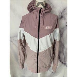 Nike Track field blush pink zipup jacket Sz L